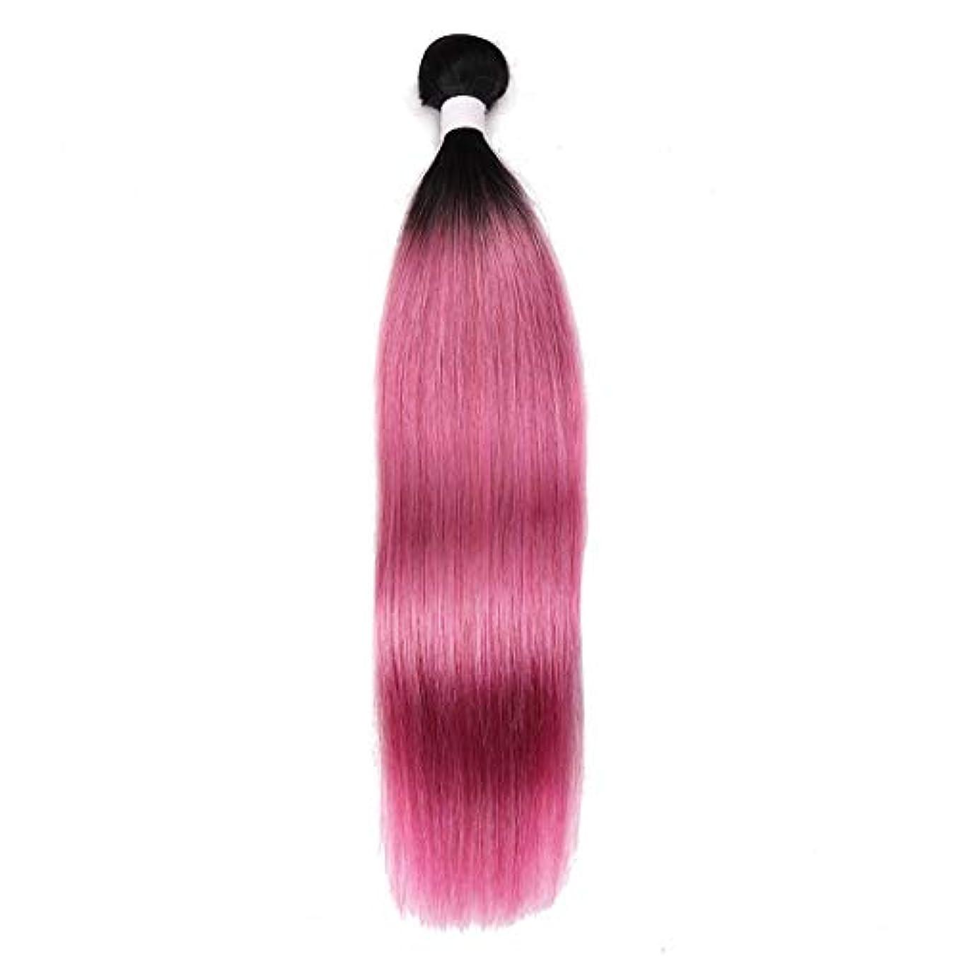 採用ルーキー義務づけるJIANFU ウィッグ ローズパウダー ストレートヘア カーテン 軽量 インディアン長髪 10?18インチ レディースかつら (サイズ : 12inch)