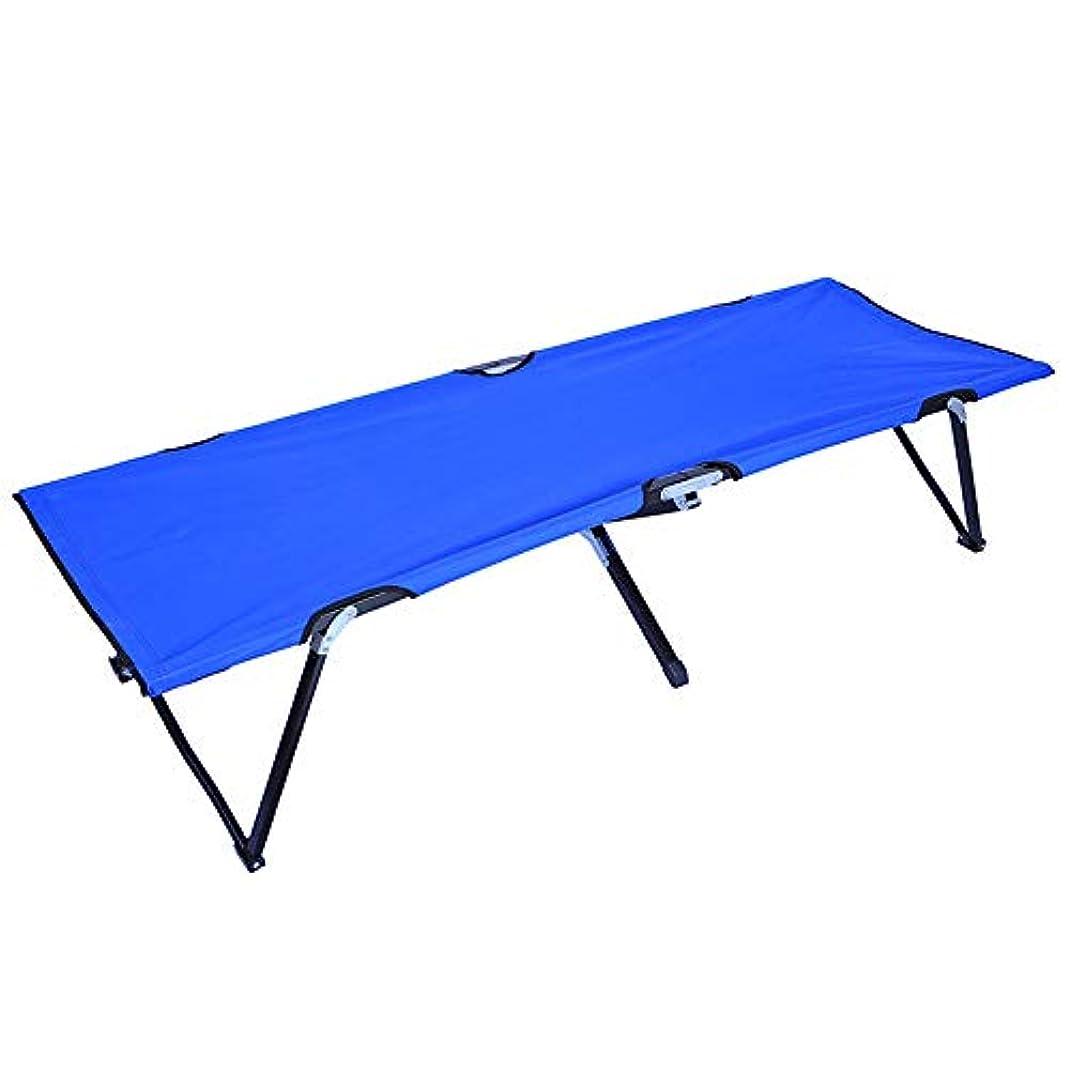 改革ブレーク専門化するSviper 折り畳み式ポータブルキャンプ用コット 大人用 軽量 ポータブル キャンプ用ベッド コンパクト 折りたたみ式 ベースキャンプ ハイキング ハンティングに最適