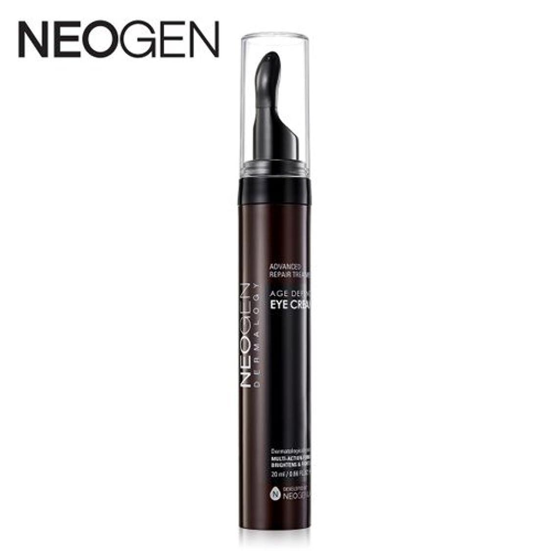 カートリッジ苦悩処方する[OUTLET] NEOGEN Dermalogy Age Defence Eye Cream /ネオジェン ダーマロジーエイジディフェンスアイクリーム20ml [並行輸入品]