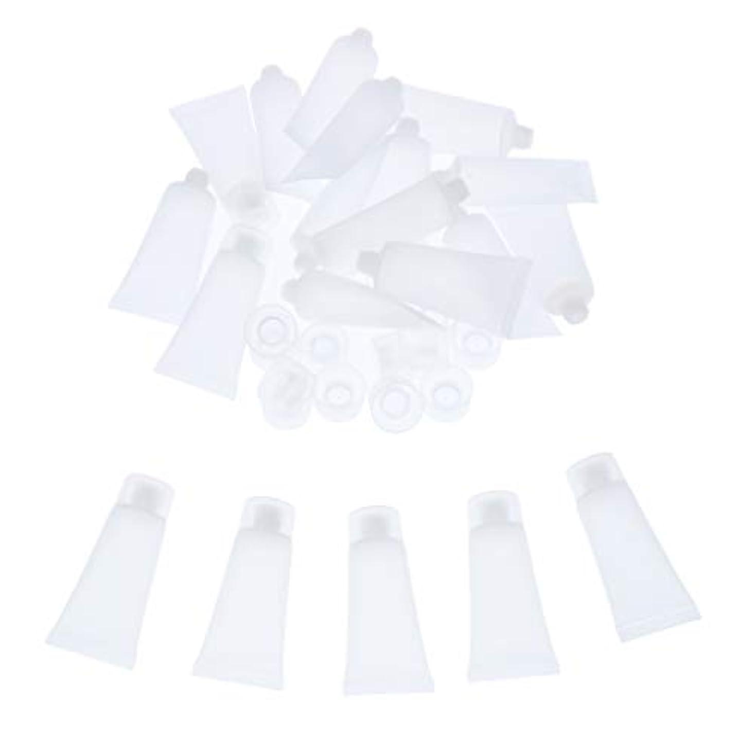 最もオーナメント不名誉SM SunniMix クリーム チューブ 詰め替え ローション チューブ プラスチック素材 約20個入り 全4サイズ