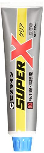 セメダイン 超多用途 接着剤 スーパーX クリア 135ml AX-041