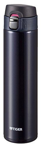 タイガー 水筒 600ml 直飲み ステンレス ミニ ボトル サハラ マグ 軽量 夢重力 ブルーブラック MMJ-A060-KA Tiger