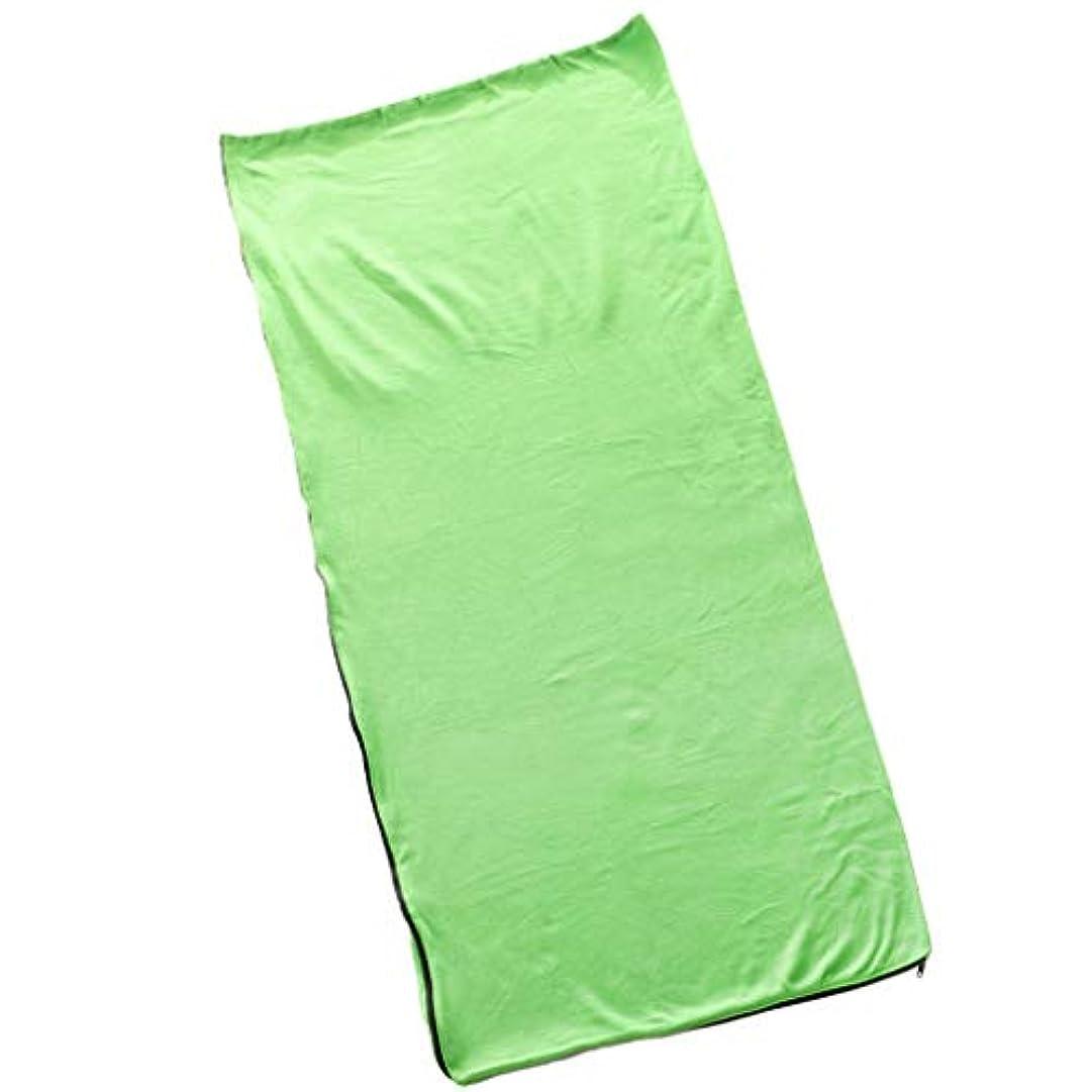 答え変換放棄されたFenteer 寝袋 シュラフ 大判タオル 掛け布団 シート 封筒型 保温 収納袋付 キャンプ 花見
