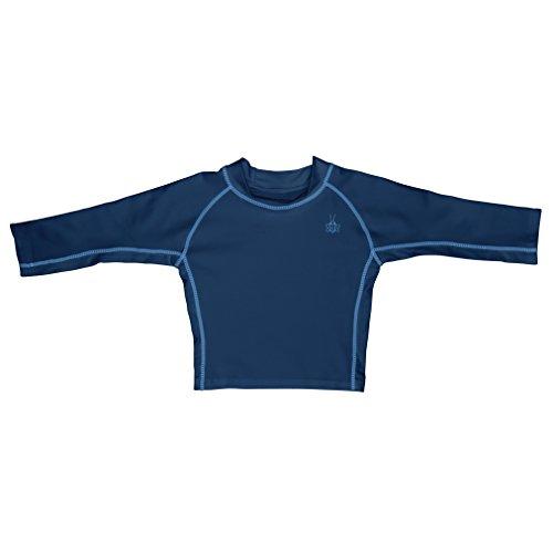 アイプレイ iplay ラッシュガード 長袖 UPF50+ UVカット ベビー キッズ 水着 L: 18ヶ月 ネイビー