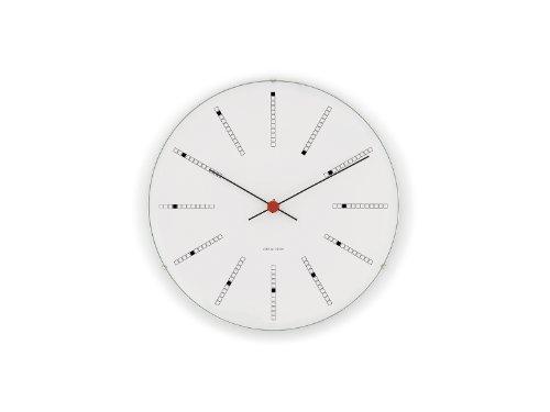 【正規輸入品】Arne Jacobsen Bankers Wall Clock 21cm 43630