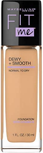 Maybelline Fit Me Dewy & Smooth Luminous Liquid Foundation - Sun Beige