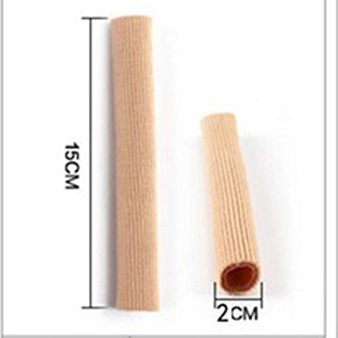 免除上向きトラフィックOpen Toe Tubes Gel Lined Fabric Sleeve Protectors To Prevent Corns, Calluses And Blisters While Softening And...