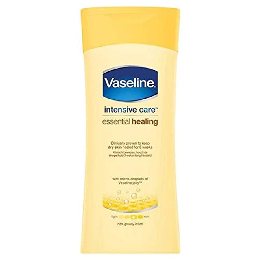喪必要条件酸っぱい[Vaseline ] ワセリン集中治療不可欠ローション200Ml - Vaseline Intensive Care Essential Lotion 200ml [並行輸入品]