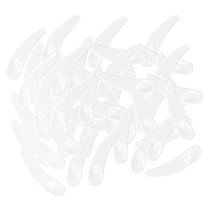 ライター砂利うぬぼれた5色選ぶ ミニ 化粧品へら ミキシングスティック スプーン - ホワイト