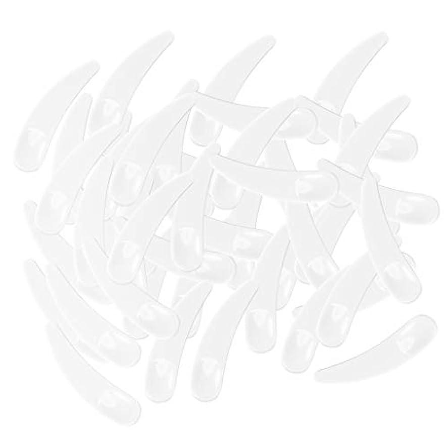 定期的レスリング後者gazechimp 5色選ぶ ミニ 化粧品へら ミキシングスティック スプーン - ホワイト