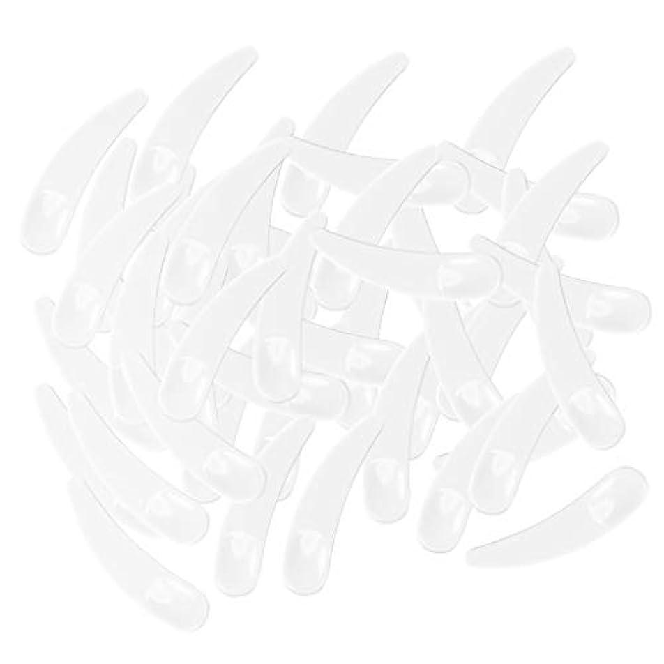 スパンソケット猟犬gazechimp 5色選ぶ ミニ 化粧品へら ミキシングスティック スプーン - ホワイト