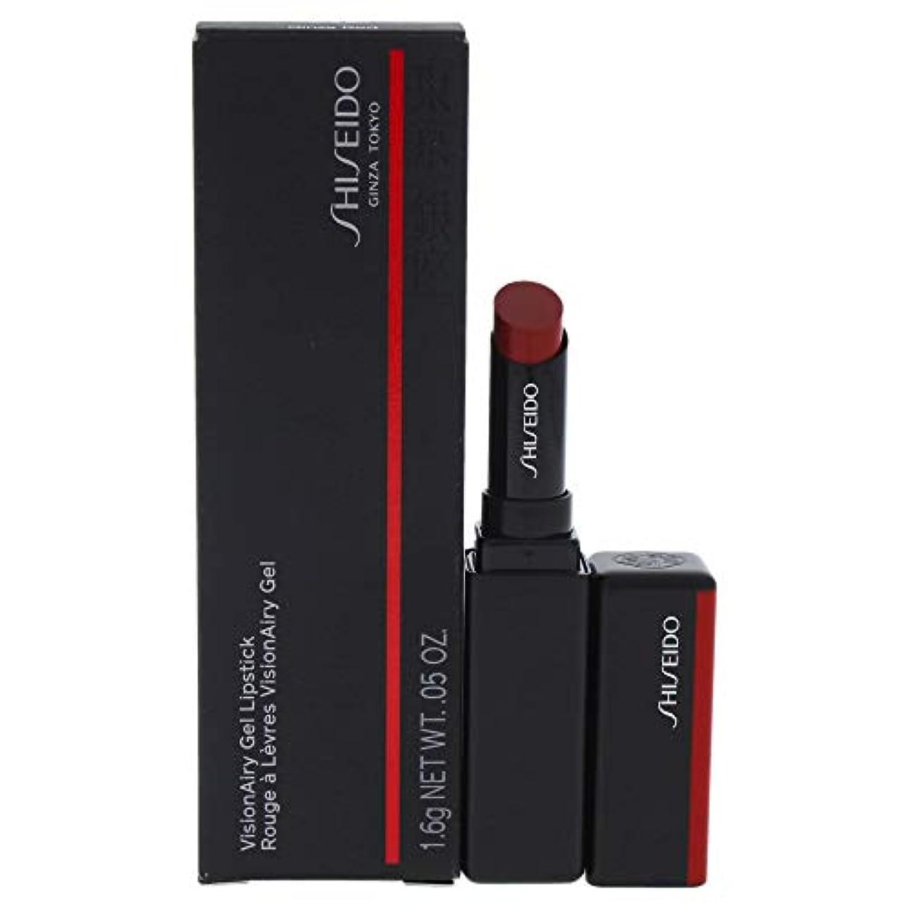神秘ストライド編集者資生堂 VisionAiry Gel Lipstick - # 222 Ginza Red (Lacquer Red) VisionAiry Gel並行輸入品