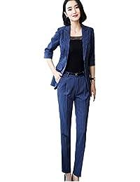 Kayaa ビジネス スーツ リクルートスーツ 洗える パンツスーツ スーツ レディース スーツ 2点セット大きいサイズ 事務服 フォーマル スーツ 通勤 オフィス OL 就活 入学式 卒業式 セット スーツ