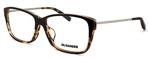 ( ジルサンダー ) JIL SANDER メガネ フレーム j4004-m レディース メンズ べっ甲  眼鏡 [ケース・クロス・ダミーレンズ付]