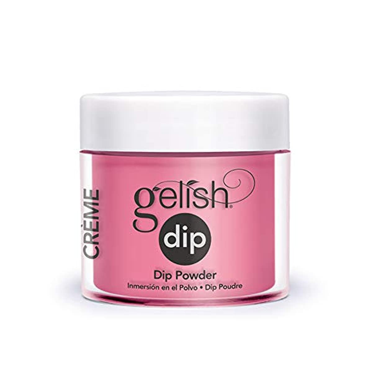 垂直トロイの木馬めるHarmony Gelish - Acrylic Dip Powder - Make You Blink Pink - 23g / 0.8oz