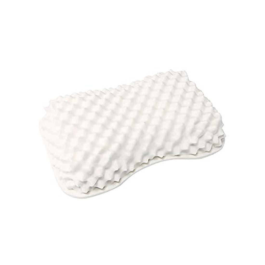 ディスク役員ペニー高反発枕ラテックス枕, 天然ラテックス枕 安眠枕 ダニ防止 いびき防止 頸部の痛みを和らげる 通気性抜群
