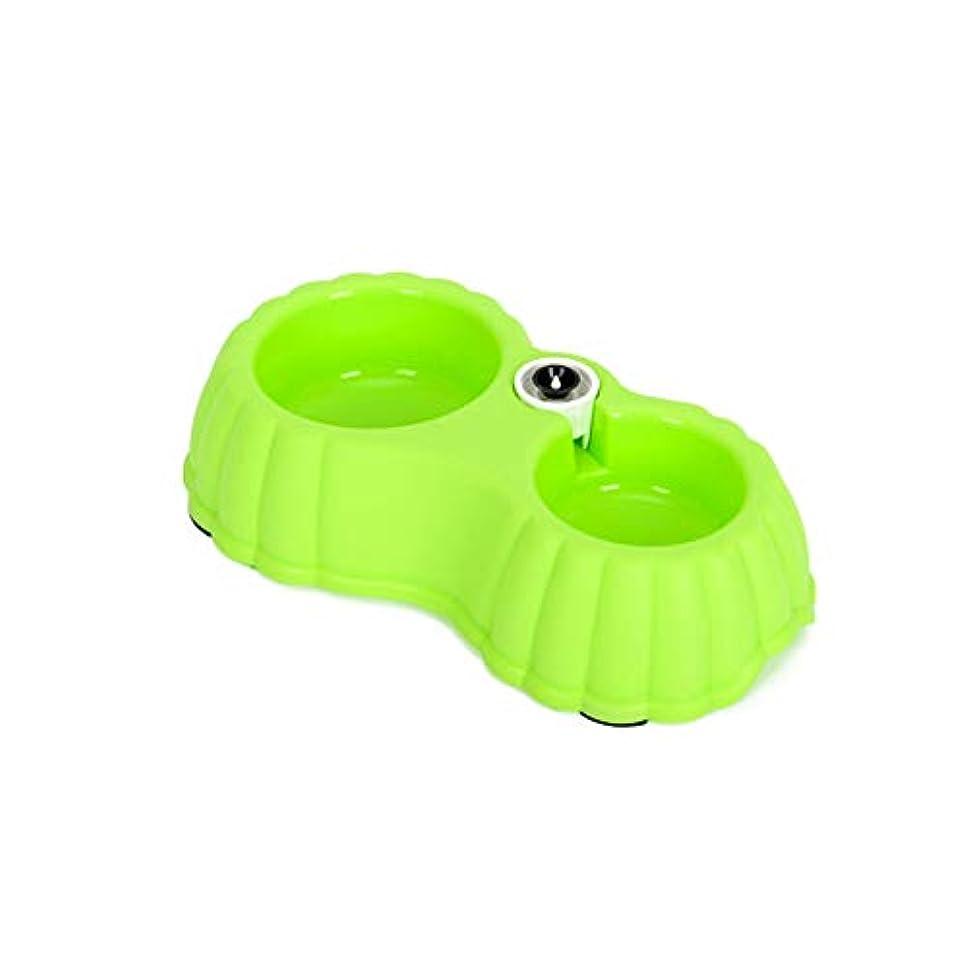 重量矛盾する感謝しているXian 犬用ボウル、犬用ボウル、犬用ポット、猫用食品、ダブルボウル、テディベンド、犬用品自動飲料水、猫用ボウル、おにぎり、ペット用品 Easy to Clean Non-Skid Bowls for Dogs (Color : Blue-small)