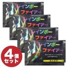 【焚き火をオーロラのような7色に】炎の色を変える Color Flame(カラーフレイム)4パックセット 日本語説...