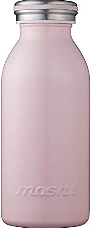 水筒 真空断熱 スクリュー式 マグ ボトル 0.35L ピーチ mosh! (モッシュ! )