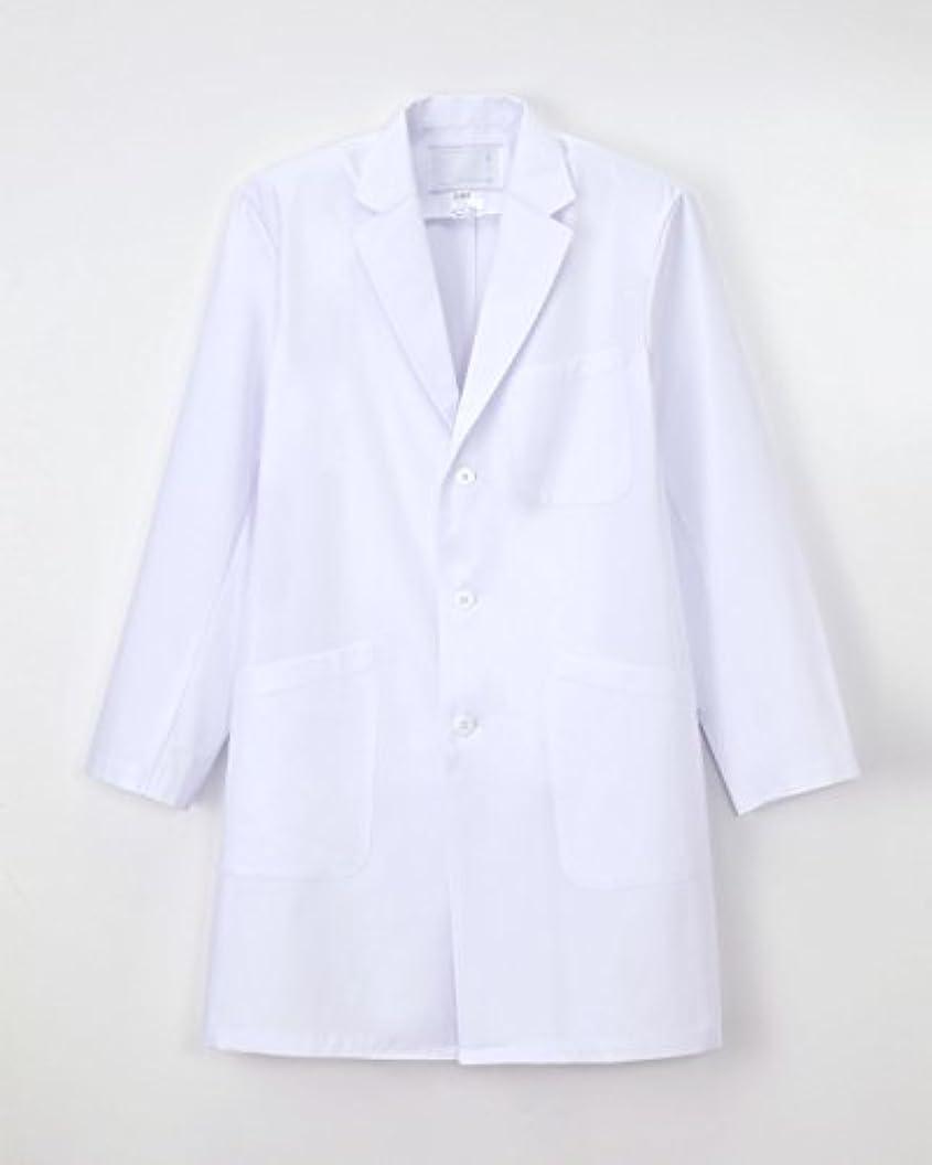 ソロ雨のヒステリック医療用ユニフォーム 男子シングル診察衣 KEX-5180(L) ホワイト