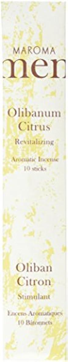 妨げる蓮肯定的Maroma ml10-a02 Olibanum Citrus Incense