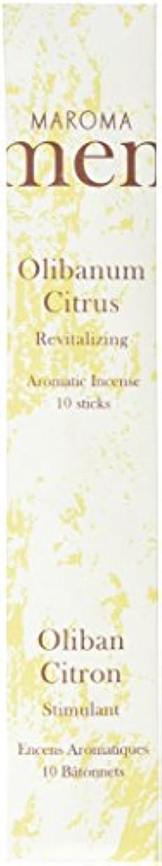 識別増強する残高Maroma ml10-a02 Olibanum Citrus Incense