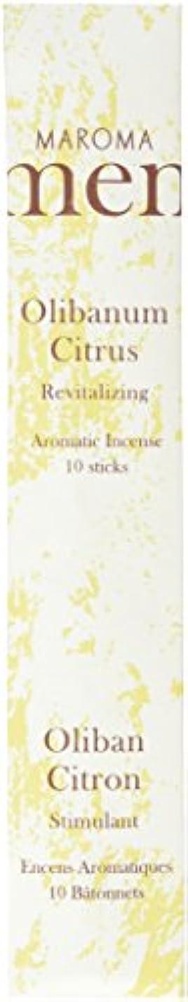 できた石免除Maroma ml10-a02 Olibanum Citrus Incense