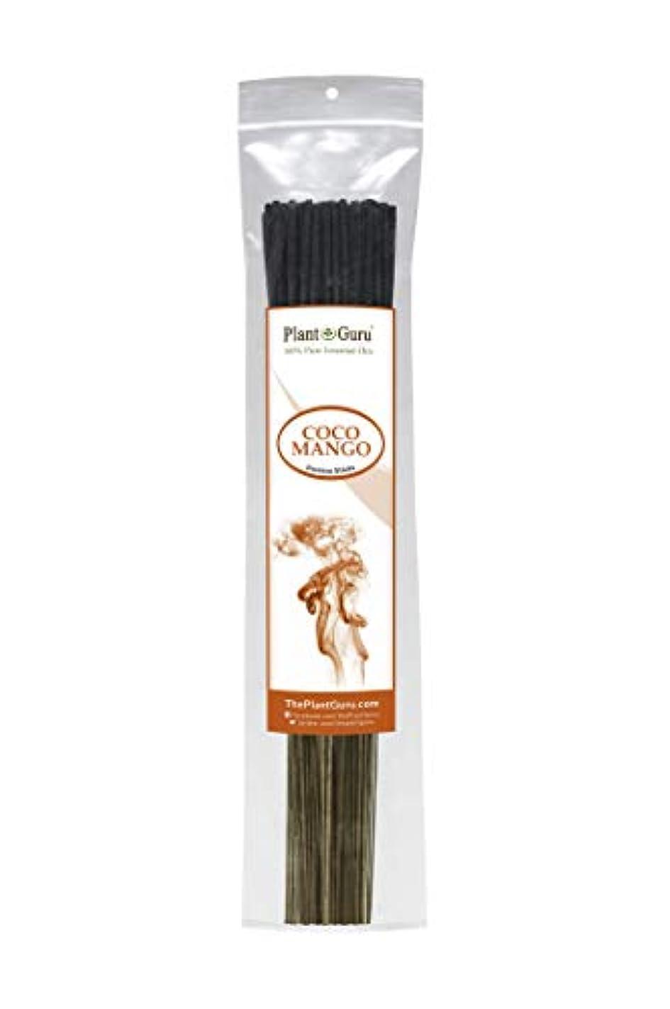 再現する商標シリーズCoco MangoエキゾチックIncense Sticks、185グラムで各バンドル85 to 100スティック、プレミアム品質Smooth Clean Burn、各スティックは10.5インチ長Burn時間は45 60...