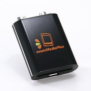写真・音楽・PDFなどを転送できるiPhone/iPad用SDカードリーダ「Zoom It(400-ADRIP002)」