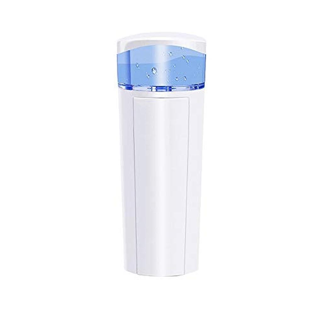 治療南極キャンプZXF 充電宝物機能付き新しいナノ水道メータースプレー美容機器ABS素材ホワイト 滑らかである