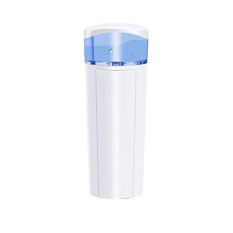 壁紙ドット些細なZXF 充電宝物機能付き新しいナノ水道メータースプレー美容機器ABS素材ホワイト 滑らかである