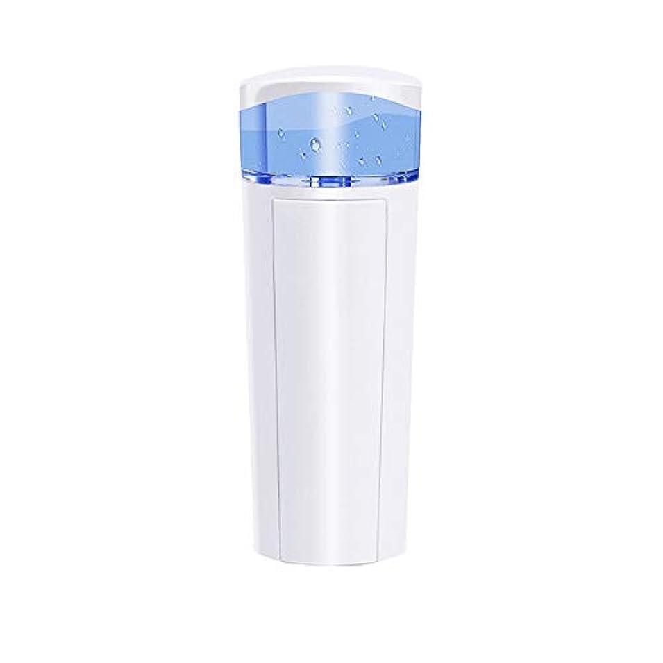 ウール形ペレットZXF 充電宝物機能付き新しいナノ水道メータースプレー美容機器ABS素材ホワイト 滑らかである