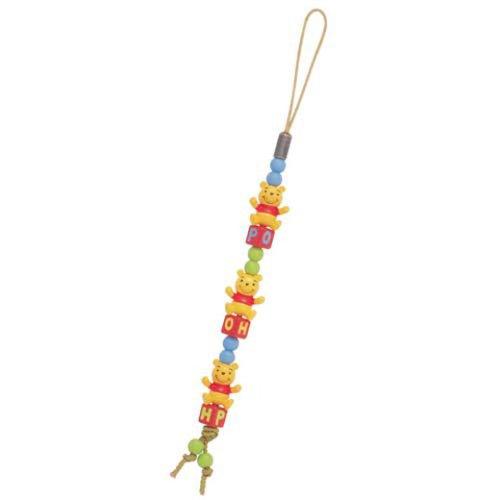 [해외]POOH 구슬 스트랩 (푸우)/POOH bead strap (Mr. Pooh)