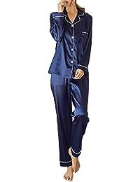 [シービリーヴ] パジャマ 上下 2点 セット ルーム ウエア 部屋着 寝巻き 抜け感 長袖 キャミ ソール エレガント かわいい