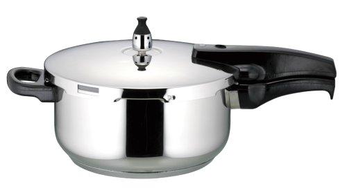 パール金属 クッキングシェフ 3層底 圧力鍋 3.8L 5合炊 (DVD付) H-5122