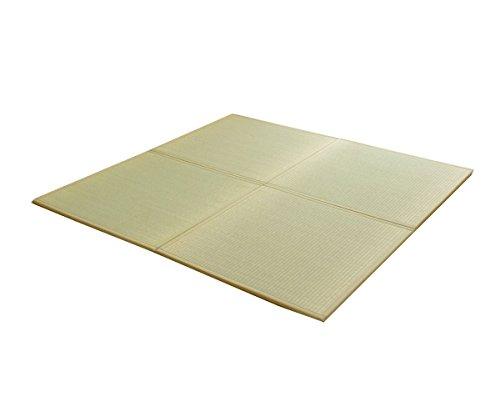 国産い草 置き畳「あぐら」【tm】 約67×67cmライトグリーン(#8608709) ユニット畳