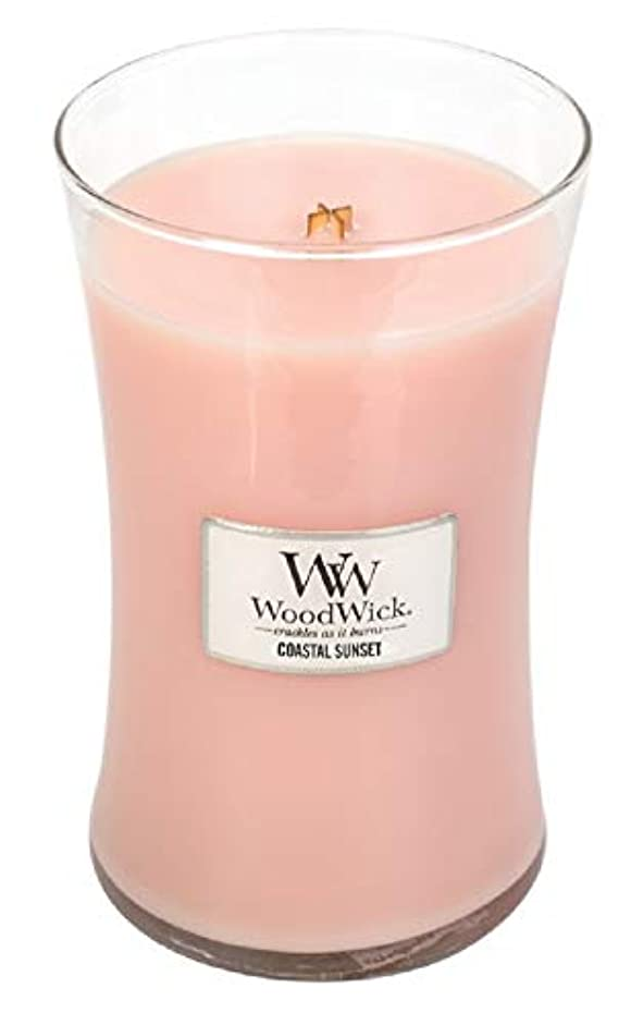 大邸宅献身体COASTAL SUNSET WoodWick 650ml Scented Jar Candle
