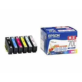 EPSON インクカートリッジ IC6CL70L 6色セット