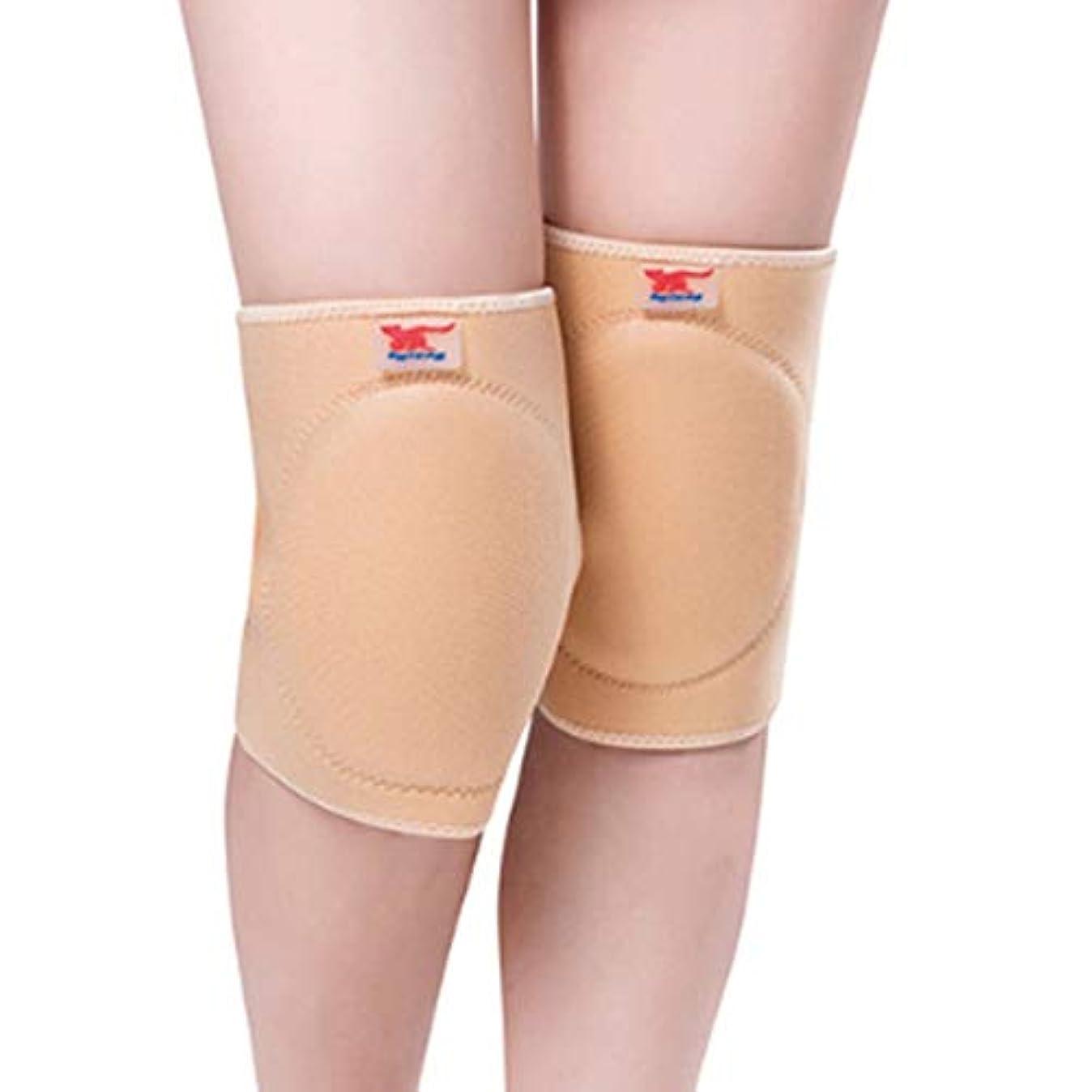 爪無視できる波反膝パッドウール防止関節炎保温暖かい膝サポート通気性肥厚膝パッド安全膝ブレース