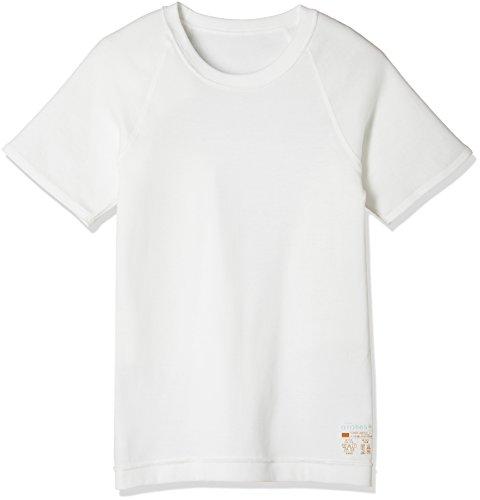 (グンゼ)GUNZE アトネス 男児 半袖丸首シャツ GY56550 13 オフホワイト 100
