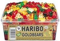 Haribo Cuddly Gold Bears: Tub of 600 by Haribo