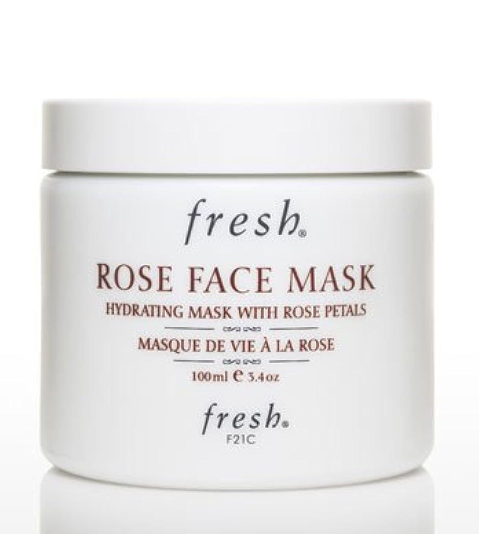 マーベルパターン必要Fresh ROSE FACE MASK (フレッシュ ローズフェイスマスク) 3.4 oz (100g) by Fresh for Women