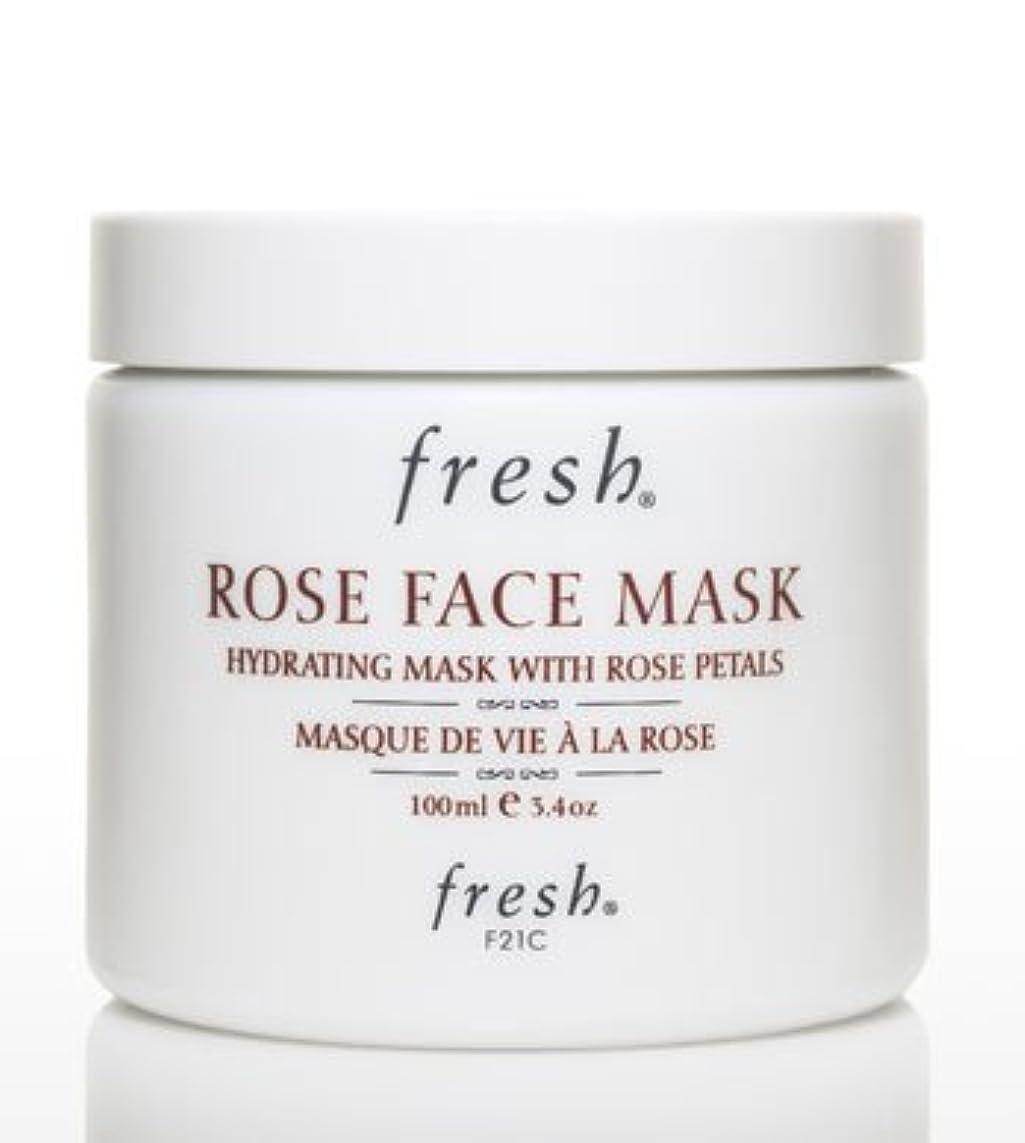 七面鳥箱インキュバスFresh ROSE FACE MASK (フレッシュ ローズフェイスマスク) 3.4 oz (100g) by Fresh for Women
