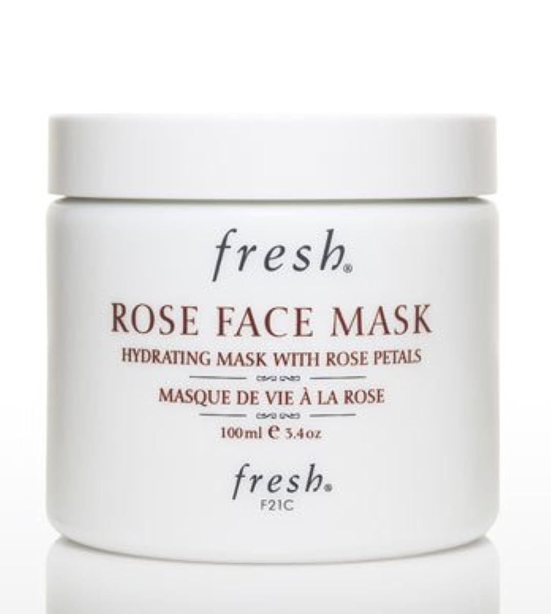 優先拷問りんごFresh ROSE FACE MASK (フレッシュ ローズフェイスマスク) 3.4 oz (100g) by Fresh for Women