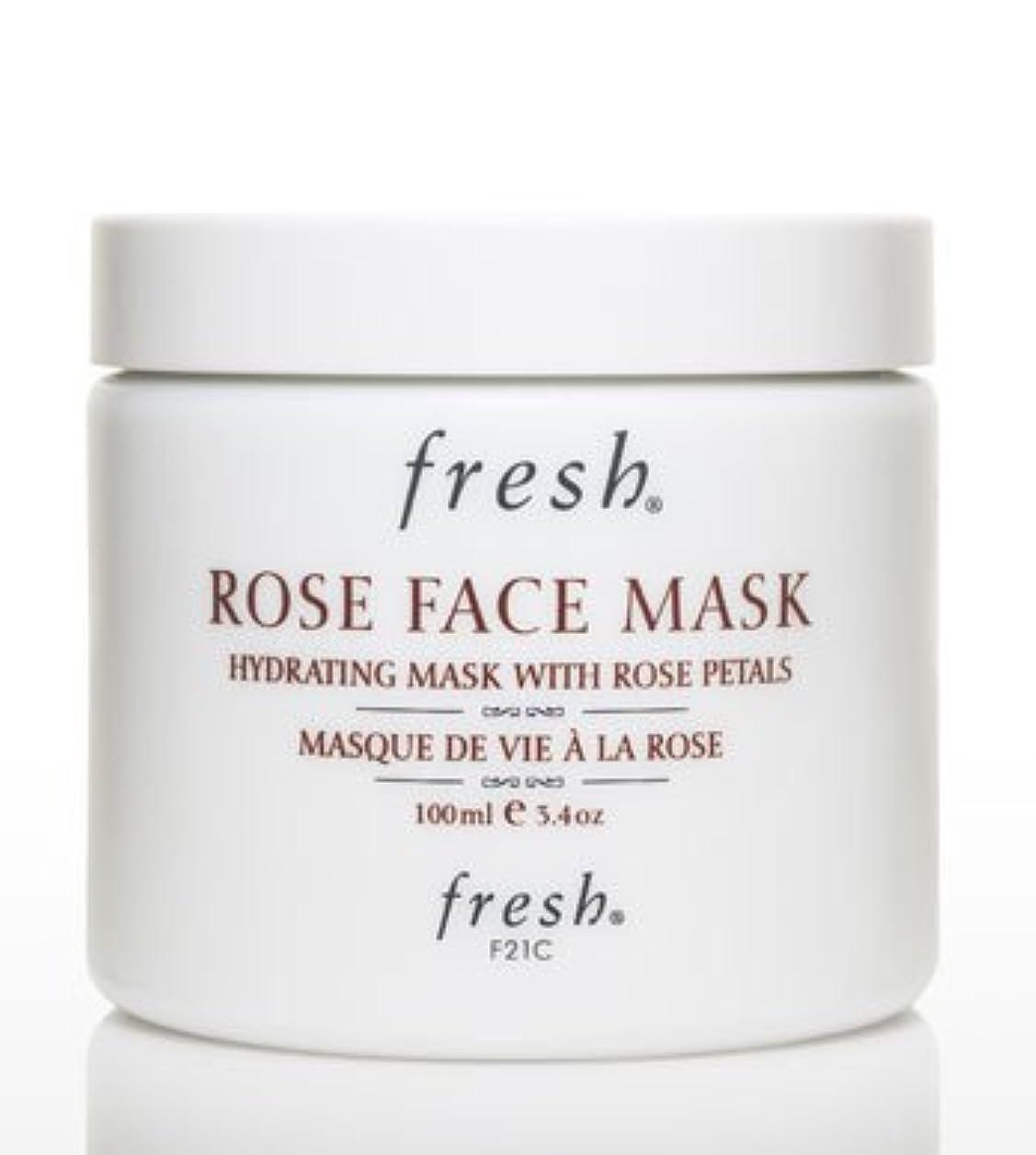 陰謀コインランドリー証明書Fresh ROSE FACE MASK (フレッシュ ローズフェイスマスク) 3.4 oz (100g) by Fresh for Women