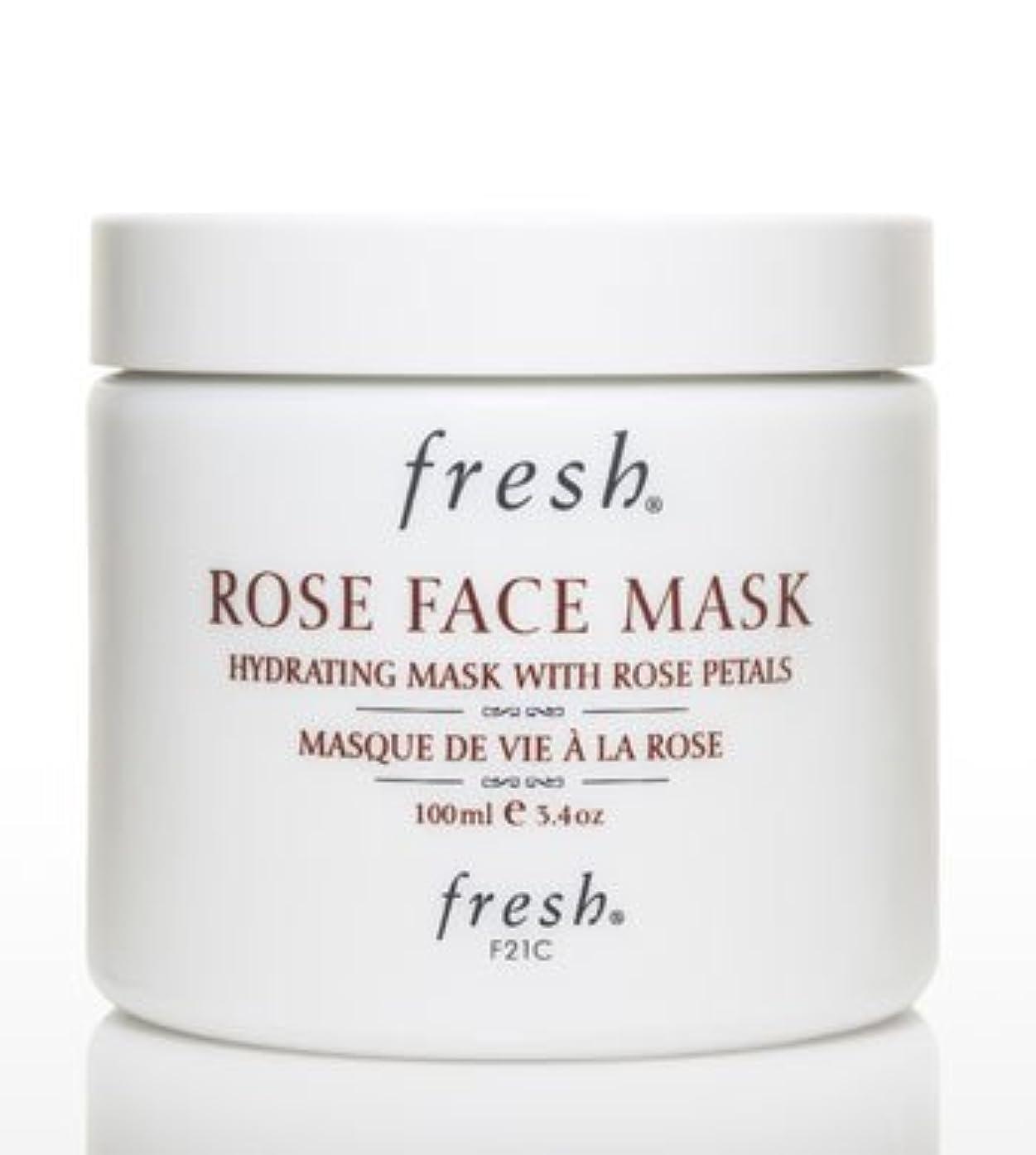 関与する物理的にアプトFresh ROSE FACE MASK (フレッシュ ローズフェイスマスク) 3.4 oz (100g) by Fresh for Women
