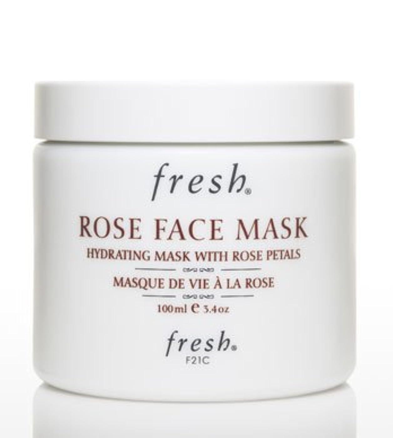 豊かにするデータ戸口Fresh ROSE FACE MASK (フレッシュ ローズフェイスマスク) 3.4 oz (100g) by Fresh for Women