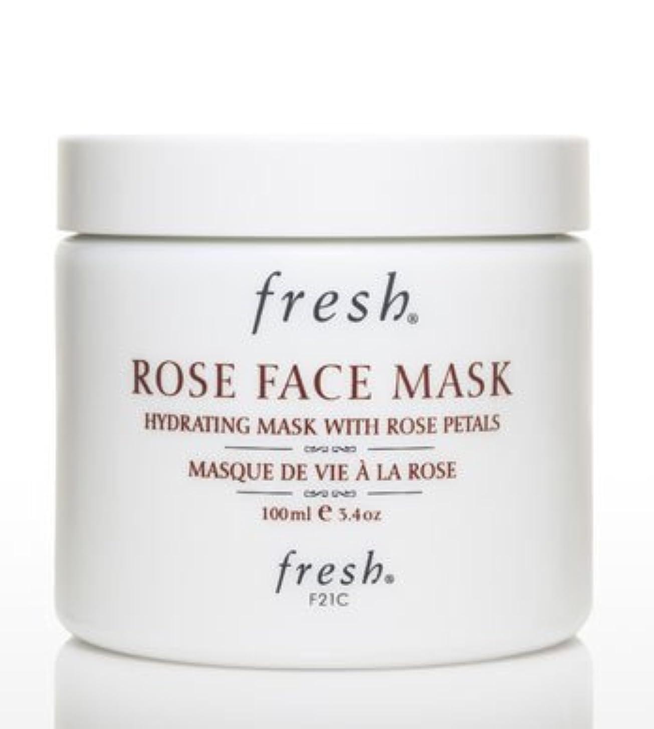 キャッシュ微視的犯罪Fresh ROSE FACE MASK (フレッシュ ローズフェイスマスク) 3.4 oz (100g) by Fresh for Women
