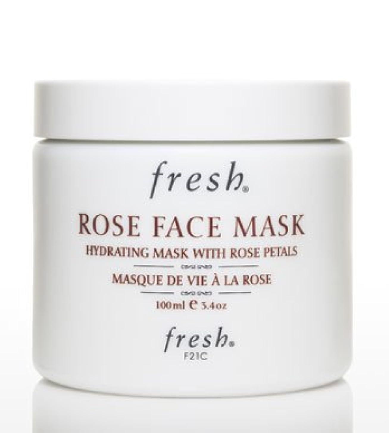 そよ風市町村タイマーFresh ROSE FACE MASK (フレッシュ ローズフェイスマスク) 3.4 oz (100g) by Fresh for Women