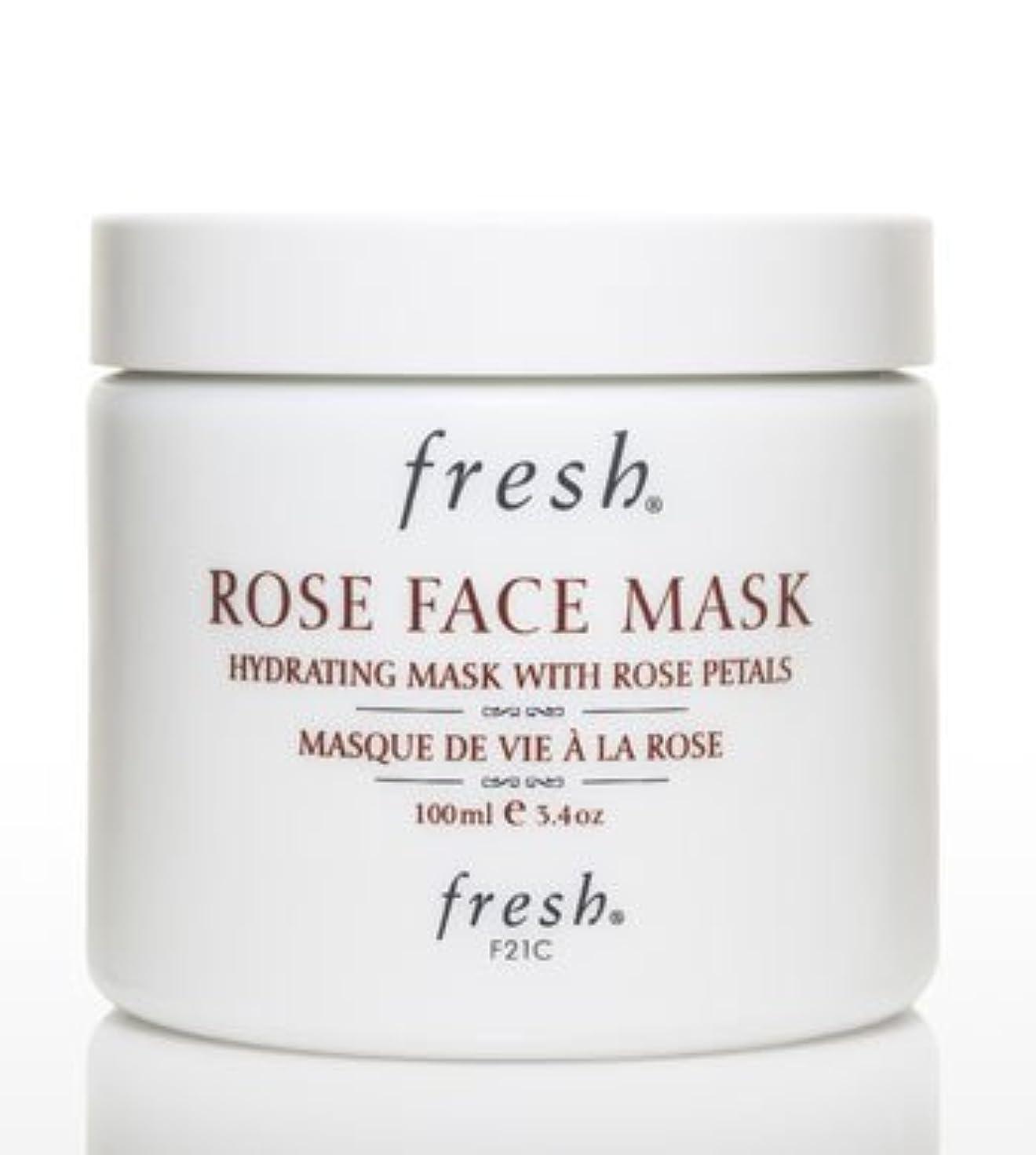 悪因子息苦しいフライトFresh ROSE FACE MASK (フレッシュ ローズフェイスマスク) 3.4 oz (100g) by Fresh for Women